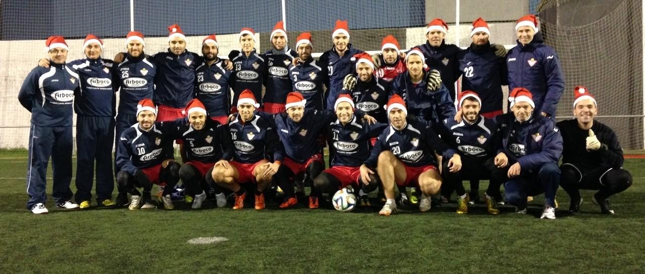 La familia del Silva felicita la navidad con una original foto
