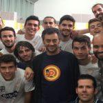 El primer equipo sacará mañana la fotografía oficial con el alcalde, Xulio Ferreiro