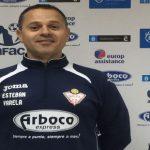 Esteban Varela, satisfecho por sumar en un partido intenso