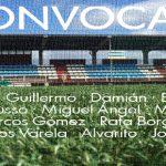 Convocatoria jornada 12: Silva SD – Racing Villalbés