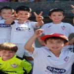 Día de disfruta del Biberón en el torneo del Sporting Burgo
