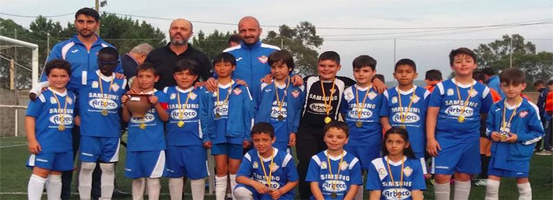 Cuádruple presencia de la #FamiliaSilvista en el II Torneo de fútbol base Vila do Roncudo