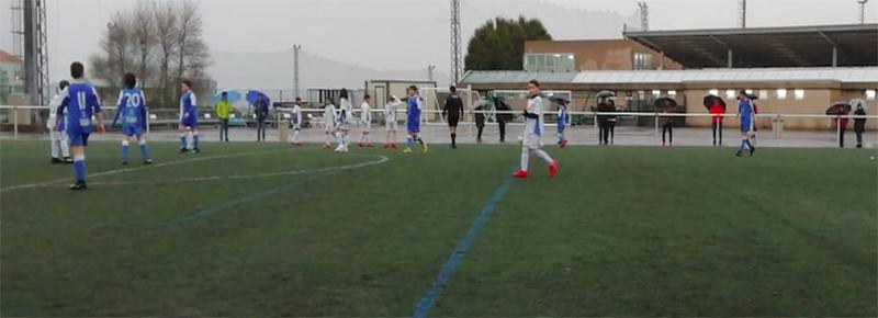 Tropiezo del Alevin A ante Ural Español CF (0-12)