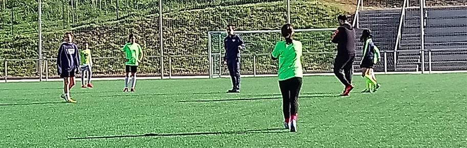 El equipo femenino que participará en la copa Gallaecia inició su trabajo semanal