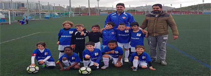 Prebenjamin B y C afrontaron jornada de liga en 1 de mayo