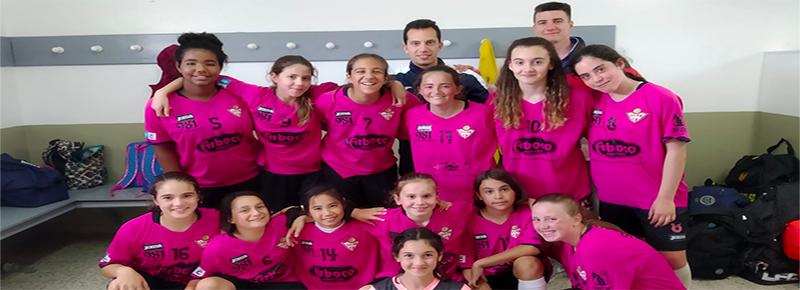 Las #GuerrerasGallaecia se divierten, aprenden y suman su primer gol en la sede de O Val