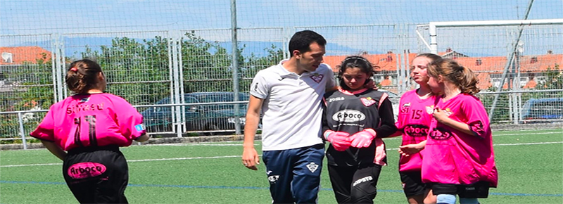 Fran Salgueiros, satisfecho con el esfuerzo de las #GuerrerasSilvistas