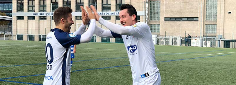 Bardanca y Joao Paulo, alegres por un triunfo importante