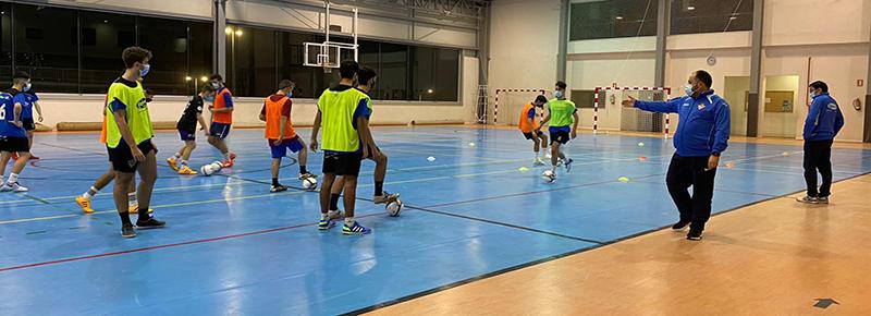 Suspendida la actividad de la sección de futsal durante las próximas tres semanas
