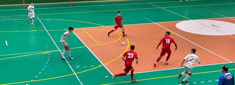 Primeros minutos del Silva SD Arboco en amistoso ante un 5 Coruña superior