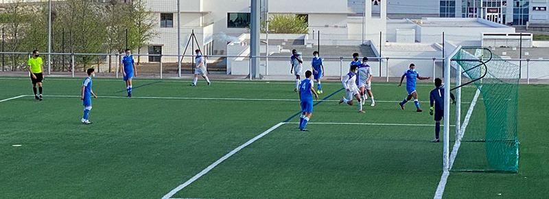 El Cadete B rozó el triunfo ante SCD San Cristóbal (1-0)
