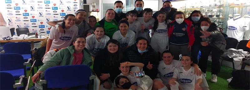 Dos goles de Nuri y Nair dejan la primera victoria para las #GuerrerasSilvistas (2-0)