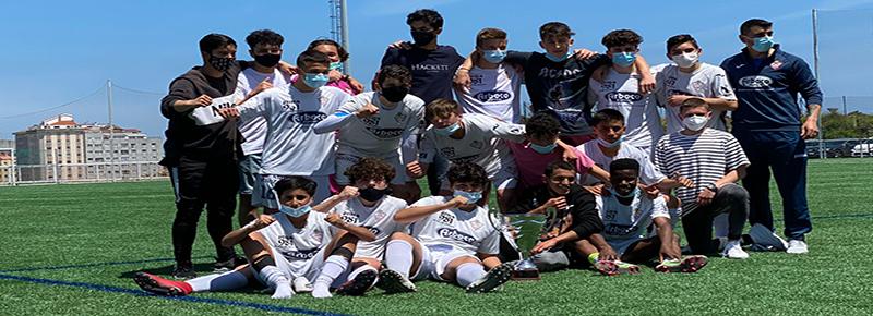 Betanzos CF, rival del Cadete A en la semifinal de la fase de ascenso a Liga Gallega