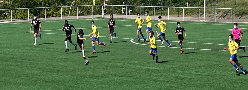 El Cadete B cierra la liga con tropiezo ante Compañía de María (1-8)