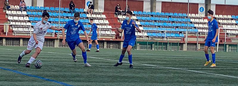Amistoso de la etapa Juvenil ante Atlético Arteixo