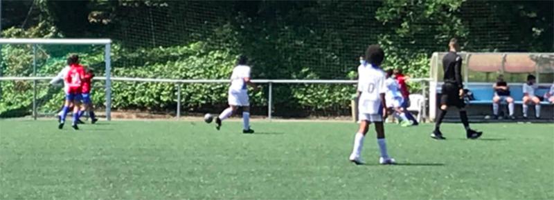 Los goles de Yassine y Lois, insuficientes para el primer triunfo del Alevin A (2-3)