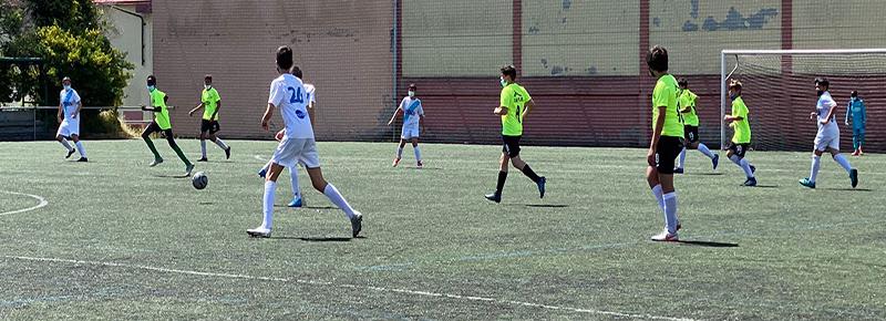 Fin de curso del Infantil B en Elviña Pequeño (13-0)