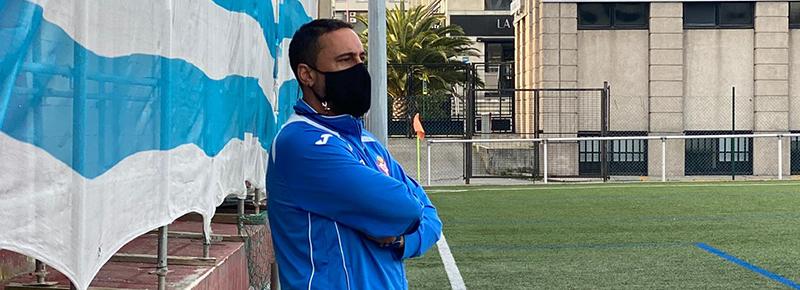 Roberto Souto, nuevo entrenador del Coruña ARBOCO CF